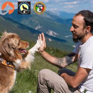 Francesco Desomaro Educatore cinofilo Thinkdog, Tecnico Amarok dog trekking ed Educatore FISC