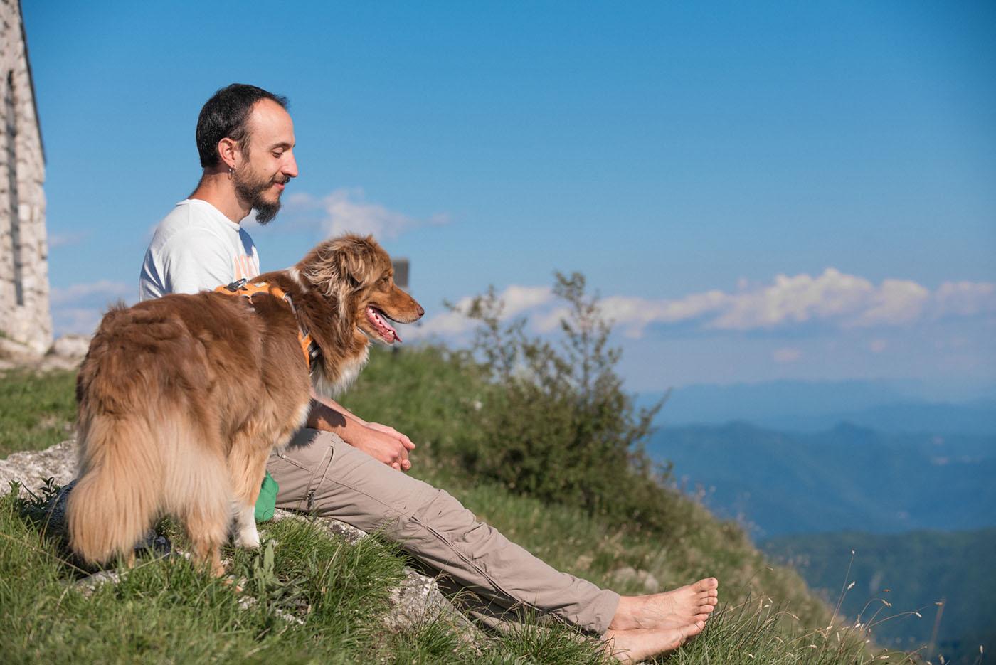 Francesco Desomaro Educatore cinofilo Thinkdog, Tecnico Amarok dog trekking I livello, Tecnico specializzato cuccioli